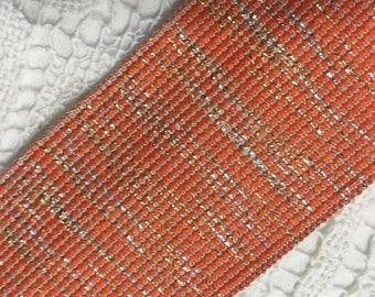 ELASTIC FANCY RIBBON - Orange