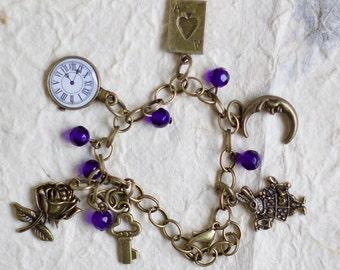 bracelet/alice in wonderland / disney