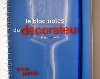 The book the Decorator Notepad editions GRUND