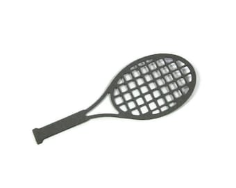 Paper Tennis Racket Die Cut Set of 20