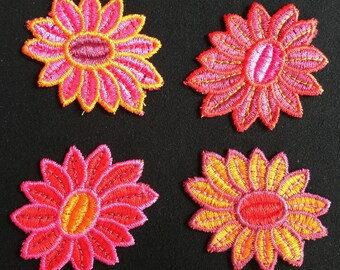 Applied 4 applied, applied flower, flower, Joce150652creaconcep applied, applied red, orange, pink, purple