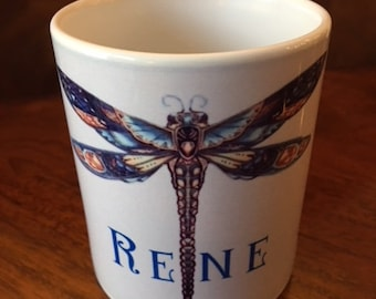 Mug  Designs on 11 oz.Mug  to Personalize with Your Specific Name with Bonus Free shipping and Gift Packaging
