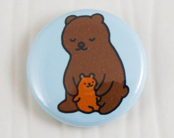 Baby Bear Hug Button