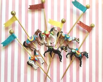 Carnival Horses/Circus Ponies/Cake Horses /Carousel Horses