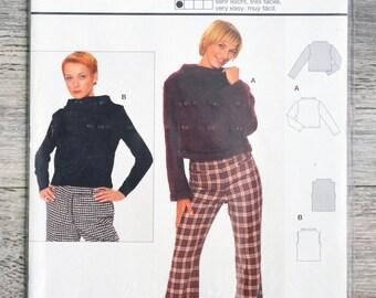 Burda 8703 pattern - top women clutch