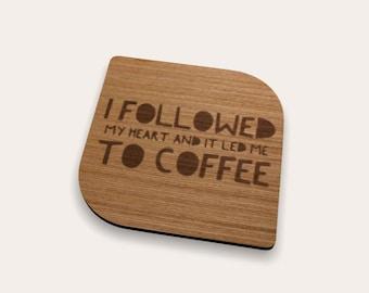 Heart Coffee 262-463 Coaster (Set of 4)