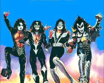 """KISS """"Destroyer"""" Album Poster Stand-Up Display"""