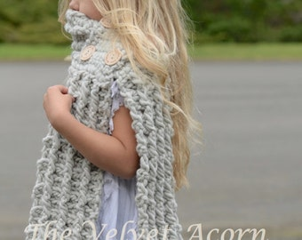 Crochet PATTERN-The Elynn Scarf (Small, Medium and Large sizes)
