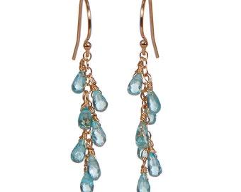 apatite dangle earrings
