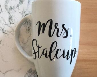 Extra Large Mug with Custom Name or Phrase