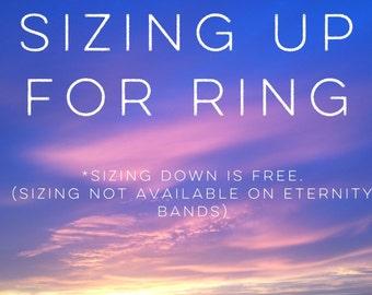 Ring sizing UP