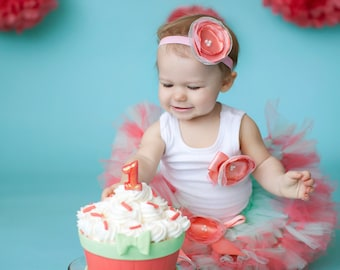 Birthday Tutu Dress   Baby Birthday Tutu   Cake Smash Tutu