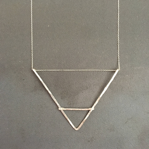 Barred Triangle Necklace