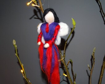 This is Love. needle felted, waldorf inspired angel/ fairy