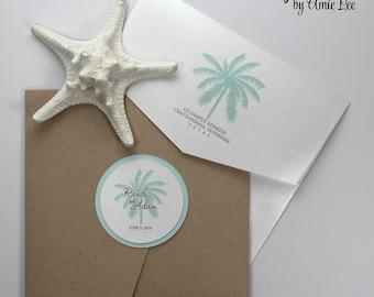 Wedding Invitations, Beach Wedding, Destination Wedding, Invitations