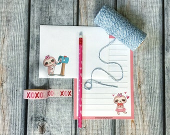 Stationery Set - just hanging out - letter writing