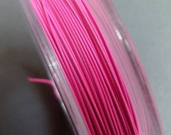 Reel of 0.3 mm pink wire 10 m