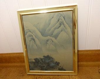 Oriental Decor, Framed Art, Art Print, Framed Art Print, Wall Art, Wall Decor, Asian Art, Framed Asian Art, Gold Framed Art, Oriental Print