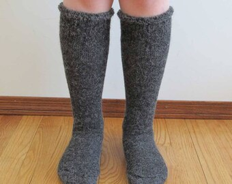 Extreme Alpaca wool socks - Super cozy warm and soft socks Size XL