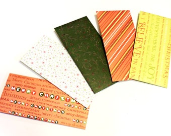 Christmas Holiday Envelopes, Decorative Money Gift Holders, Bank Cash Savings Plan, Financial Monetary Budget Paper Pouches itsyourcountry