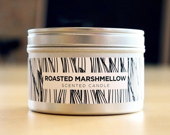 Toasted Marshmallow 8oz Soy Candle