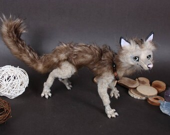 FOR SALE! Lau Rong Arlas.OOAK Art Doll.Handmade Poseable Toy.Dragon Toy.Totem.Baby dragon.