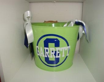 Personalized 5 QT bucket -