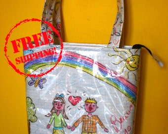Pastels Bag, Shopper Bag Designed, Child