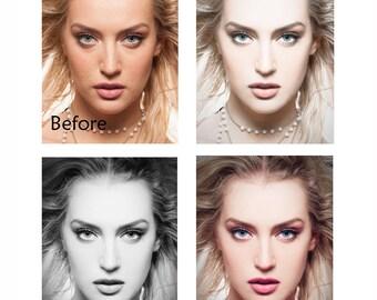 Photo retouch Skin retouch Professional retouches Face retouching Photoshop retouching Image enhancement Fix photograph Photo manipulation