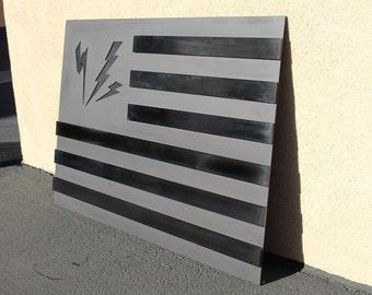 Anodized aluminum American Flag