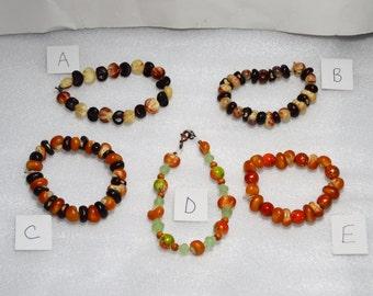 Indian Corn Bracelets