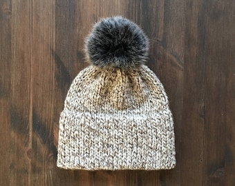 Knitted Beanie x Knitted Hat x Double Brimmed Beanie xOak
