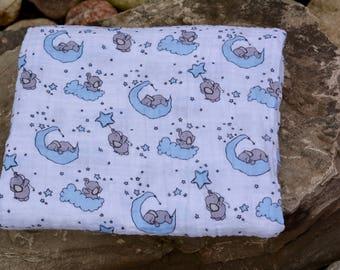 Swaddle Blanket/ Double Gauze Blanket/ Double Gauze Swaddle/ Baby Swaddle Blanket/ Muslin Baby Blanket/ Baby Shower Gift