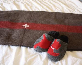 Swiss Army Wool Blanket Replica // Outdoor Wool Blanket