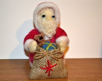 Needle Felted - Santa Claus
