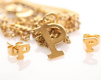 Initial Set in Gold