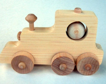 D.I.Y.  Craft Kit, Wooden  Train, Push Toy