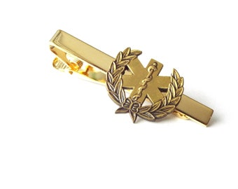Medical Tie Clip - Star of Life (X302AG)