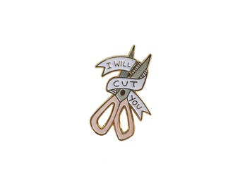 I will cut you pin (W.S)
