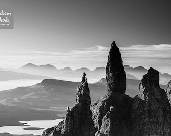 The Old Man of Storr, Isle of Skye, Scotland. Scottish Islands. EPIC Landscape Photograph. Fine Art Print