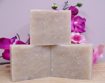 Frankincense and Myrrh Soap Old Fashioned Cold Processed Soap Vegan Soap