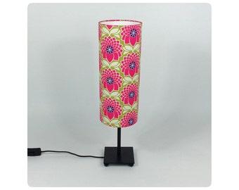 Fabric lamp shade - Fushia