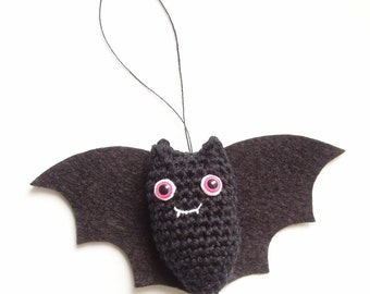 bat crochet pattern pdf, quick and easy amigurumi vampire bat crochet pattern