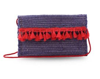 Kourelou bag with tassels