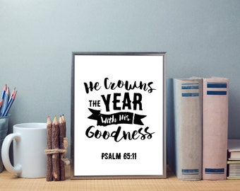 He Crowns The Year - Digital Download