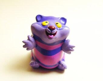 Figurine art toy Hugster hamster Cheschire cat