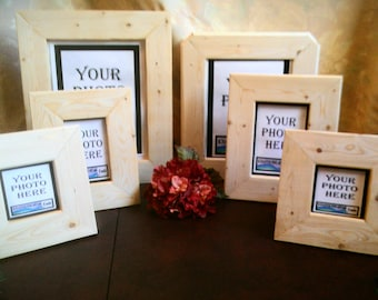 Blank Wood Frames, Wood for Projects, Wood for Frames, Blank Wood Crafts, Unfinished Wood Frames, Wood Crafts Supplies, DIY Wood Frames