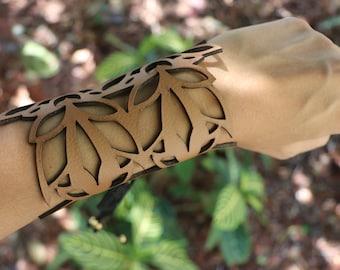 Leather Bracelet. Boho Style