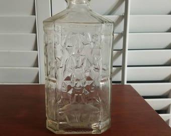 1960s manischewitz wine bottle