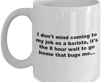 Barista Coffee Mug